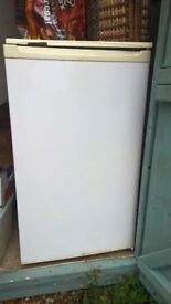 Fridge - larder type under counter. Glass shelves. NO freezer compartment