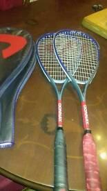 Donnay squash rackets