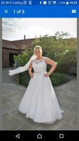 Ronald Joyce Wedding Gown UK Size 20