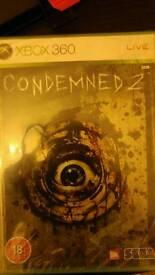 New Condemned 2 xbox 360