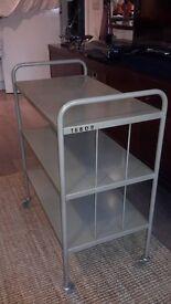 Vintage metal trolley