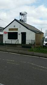 Shotts ml74ab former cafe / shop / office space to let ( may sell )