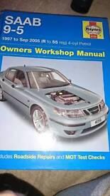Saab 95 workshop manual