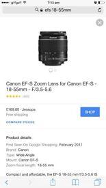 Cannon EOS 1200d