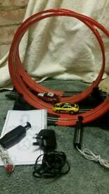 Super loop electric car track