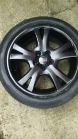 Set of 4 volvo wheels