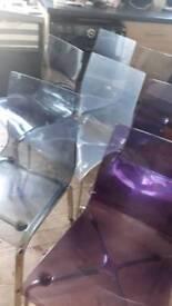 Chairs x 8
