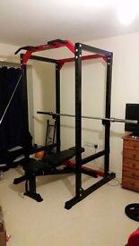 Bodymax power rack cf485 strength package