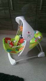 Fisher price rainforest swing chair
