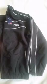 New mens tracksuit. Black size large.