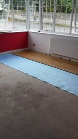 laminate and solid wood floor fitting