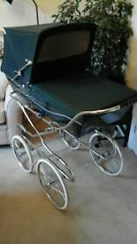 Silver Cross Carlton coach built baby pram