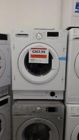 LOGIK Integrated Washing Machine - White