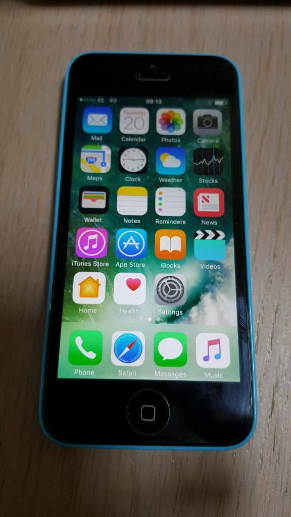 IPhone 5C bluein Gateshead, Tyne and WearGumtree - Refurbished iPhone 5C blue 16GB, new battery, new headphone jack, new tempered real glass screen and updated to IOS 10.3. Phone is unlocked and has a PAYG EE micro card with a new number. Great little phone only selling as upgraded to iPhone 6