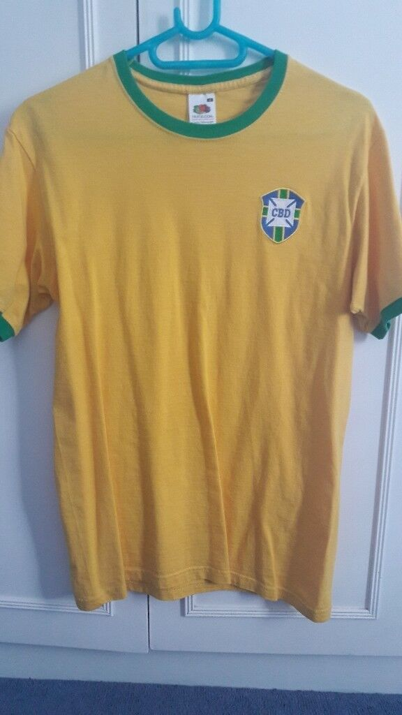 Retro 1958 Brazil Shirt Replica  7976dc3b3