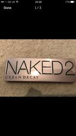New Urban Decay Naked 2 palette.