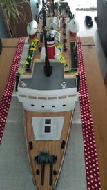 Lady line model boat eye catcher
