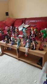 Monster High (massive collection)