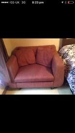 Large purple chair- £10 collection only