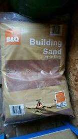 *SORRY GONE* B & Q Building Sand 2x Bags