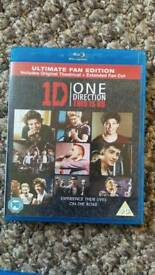One direction blu ray dvd