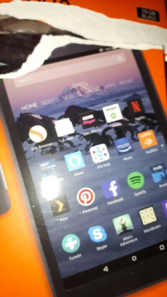 Fire hd tablet 8 inch