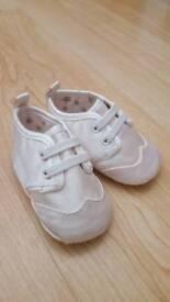 M&S Unisex Pram / Christening Shoes BRAND NEW