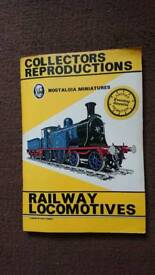 Collectors Railway book witg postcards. Complete