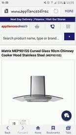 Matrix cooker hood