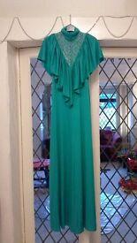 1970's evening dress