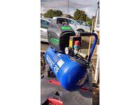 25L Draper Oil- Free compressor, good working order.