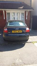 Audi A4 2L automatic petrol 53000 miles on clock