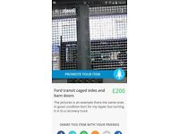 Ford transit cages