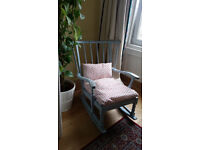 Shabby chic rocking chair for sale