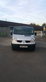 Renault trafic short wheel base