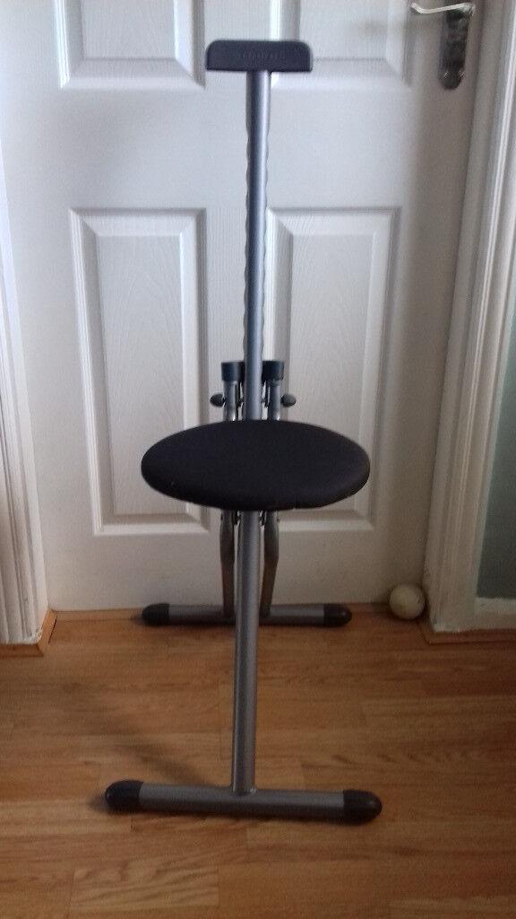 Enjoyable Adjustable Folding Perching Stool In Hamble Hampshire Gumtree Machost Co Dining Chair Design Ideas Machostcouk