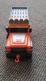 Toy truck with tow