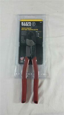 Klein Tools 2005n Forged Crimper With Wire Strippercutter - Brand New