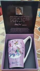 Minnie Driver Charity Mug and Plate