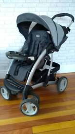 Graco puschair from Graco Quattro Tour Travel System Deluxe