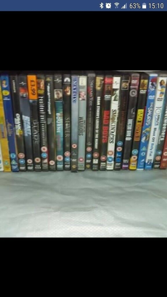 29 DVD's for £15