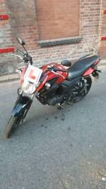 67 plate Yamaha YS 125, mint condition