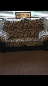 3 & 2 seater sofa's with pullout seats