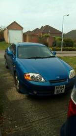 54 plate Hyundai Coupe 2L 2nd Edition LOW miles, Cam belt done and fab condition