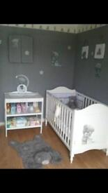 Tiny Tatty cot bed and under bed storage draw