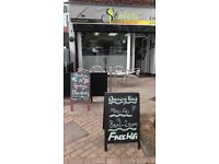 CAFE/TAKEAWAY BUSINESS FOR SALE