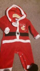 New Baby Christmas onesie with label