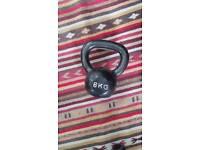 8kg cast iron kettlebell