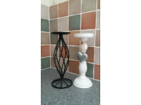 Two elegant candles holders - excellent condition