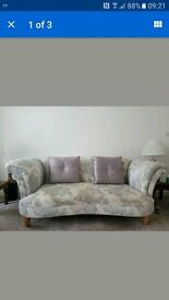 DFS Concerto Pattern Sofa , armchair and accent chair